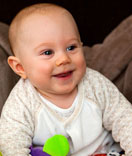 Our Clients - Baby smilling