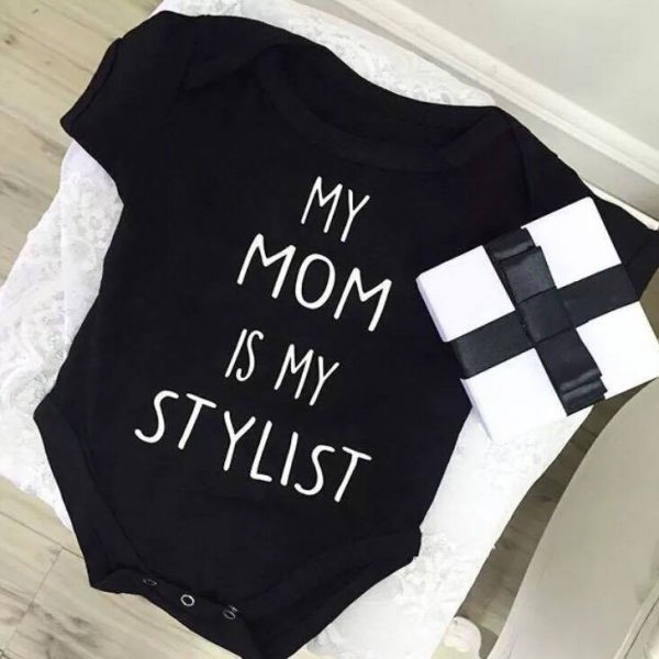 Newborn Photography Prop - Baby jumper - My mom is my stylist