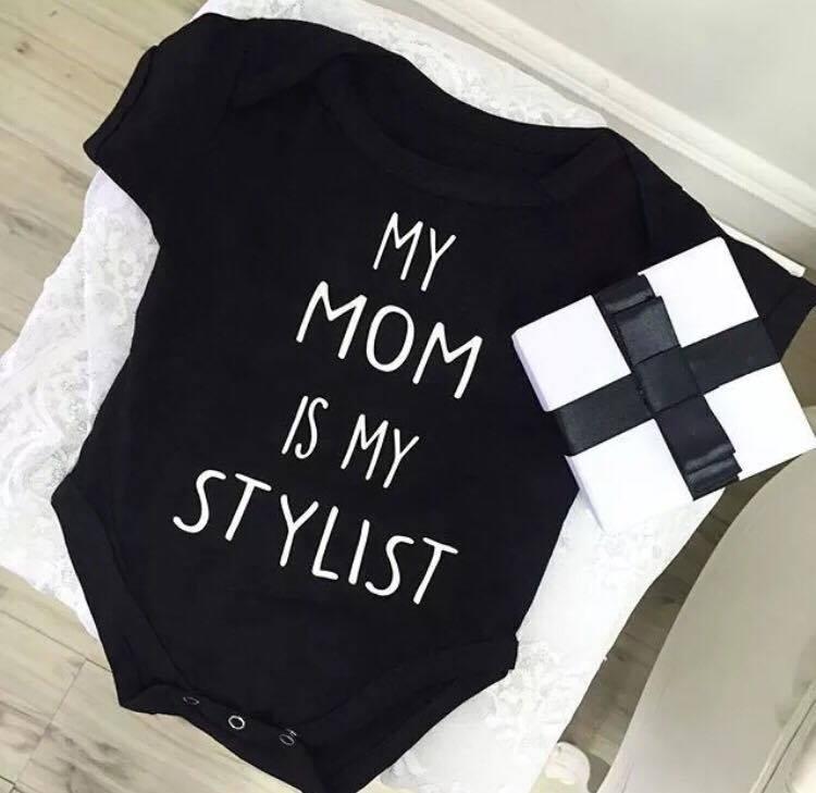 Newborn Photography Prop - Baby jumper - My mom is my stylist