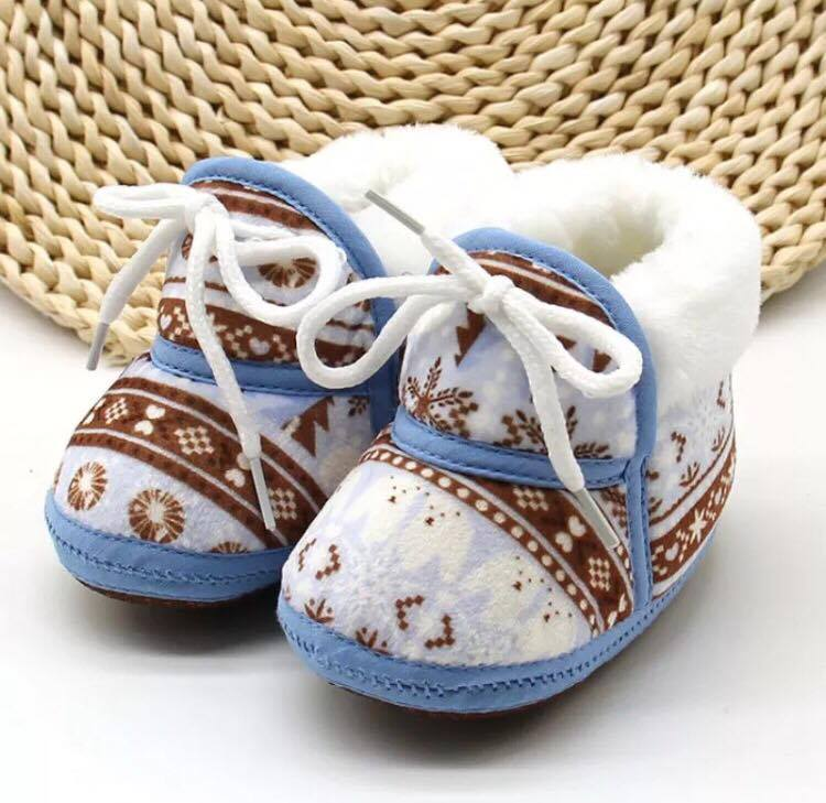 Newborn Photography Prop - Baby shoes for boys