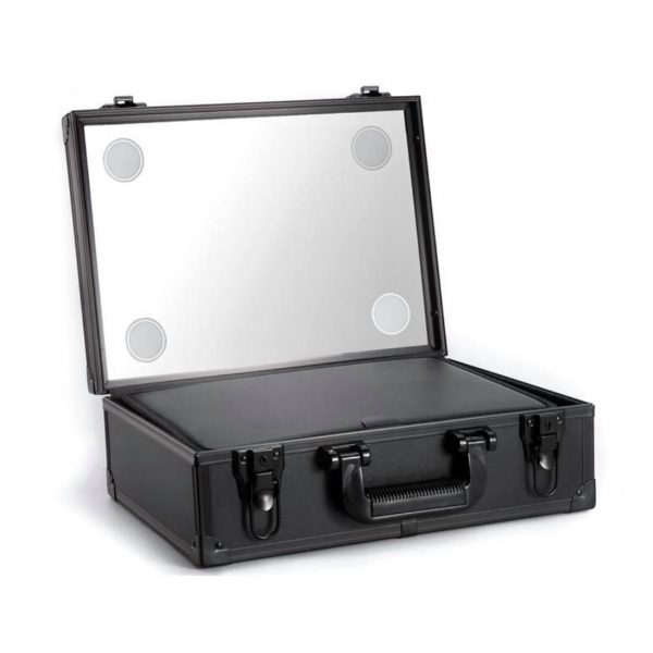 Back makeup case LED light